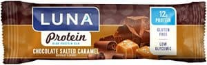 Luna protein bar chocolate salted caramel flavor