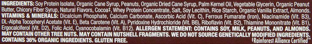Luna protein bar ingredients