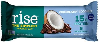 Rise protein bar chocolatey coconut flavor