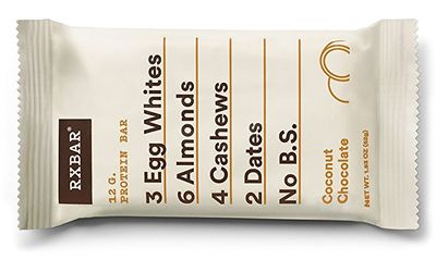 RxBar protein bar coconut chocolate flavor