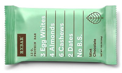 RxBar protein bar mint chocolate flavor