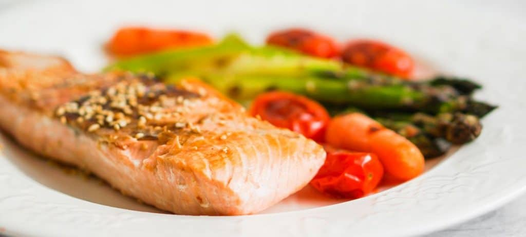 Creatine in grilled salmon