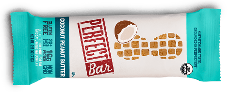 Perfect Bar coconut peanut butter flavor