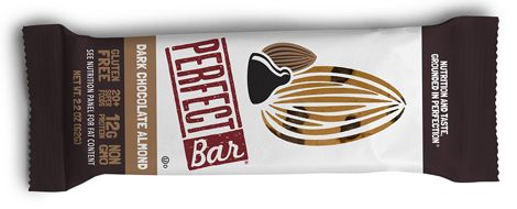 Perfect Bar dark chocolate almond flavor