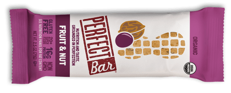 Perfect Bar fruit nut flavor