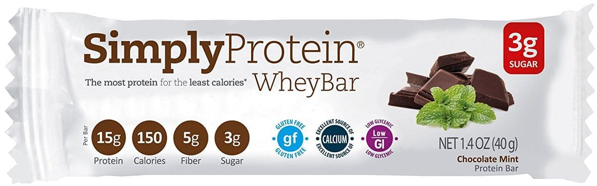 SimplyProtein whey bar