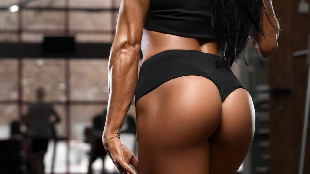 Squats help with glute development